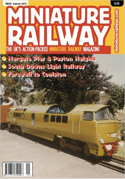 New Subscription Miniature Railway Magazine